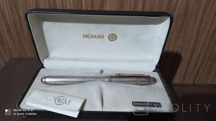 Ручка чернильная ''серебряная'', фото №7