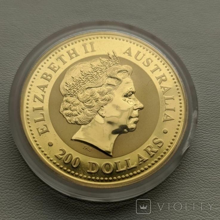 Австралия 200$ год Собаки 2006 год 2 унции золота 9999`, фото №4