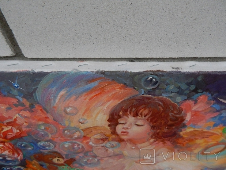 """"""" Детские фантазии """" 35 x 45 (2020), фото №5"""