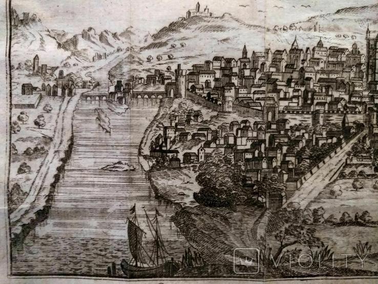 1758 Сенс Шампань Франция (карта план 37х21 Верже) СерияАнтик, фото №7