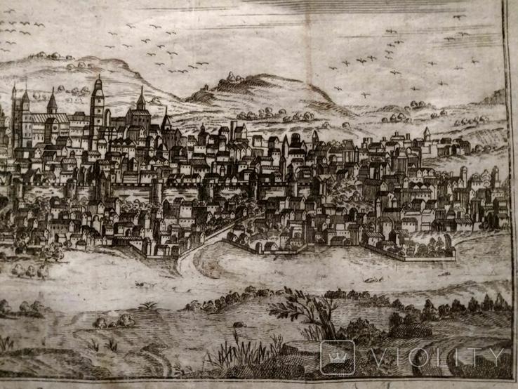 1758 Сенс Шампань Франция (карта план 37х21 Верже) СерияАнтик, фото №8