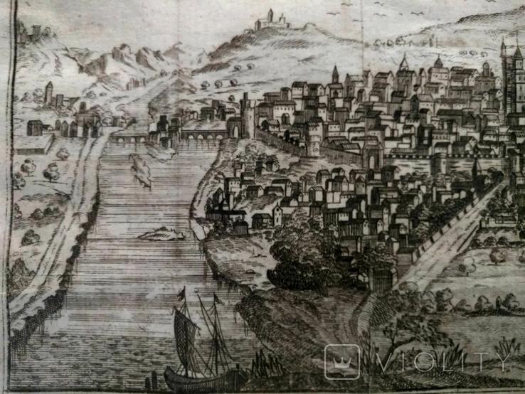 1758 Сенс Шампань Франция (карта план 37х21 Верже) СерияАнтик, фото №9