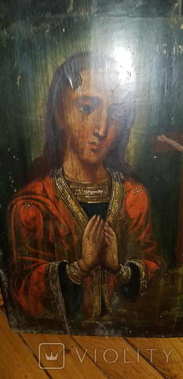 Пресвятая Богородица. Ахтырская. 35 х 25 см, фото №2