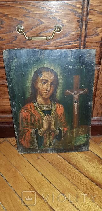 Пресвятая Богородица. Ахтырская. 35 х 25 см, фото №6