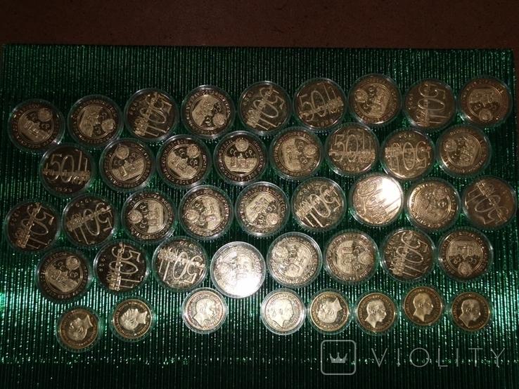 Копии монет 42 шт., фото №2