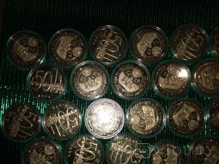 Копии монет 42 шт., фото №3