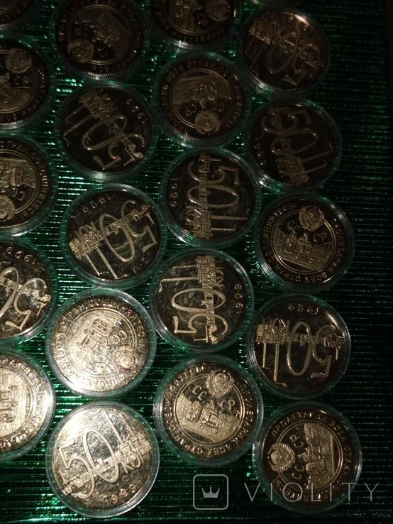 Копии монет 42 шт., фото №5