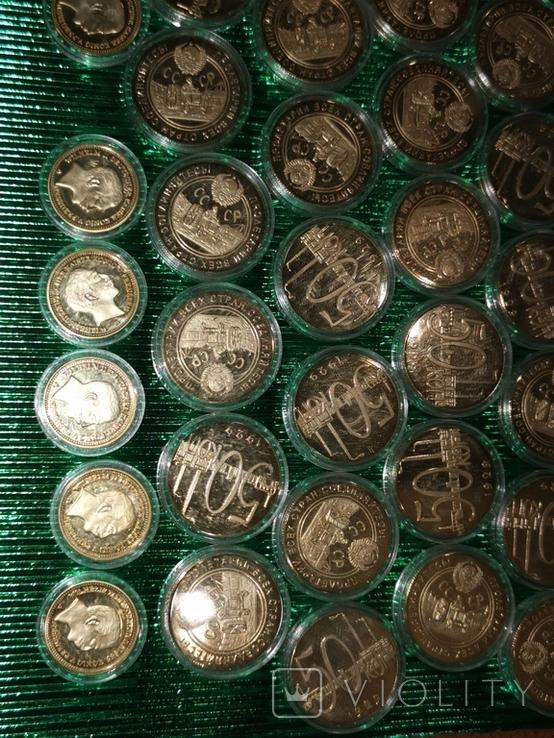 Копии монет 42 шт., фото №7