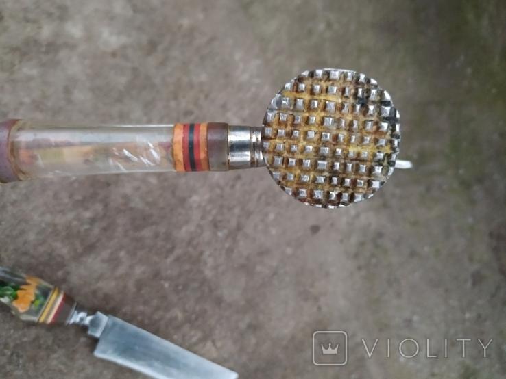 Топорик кухонный и нож СССР., фото №7