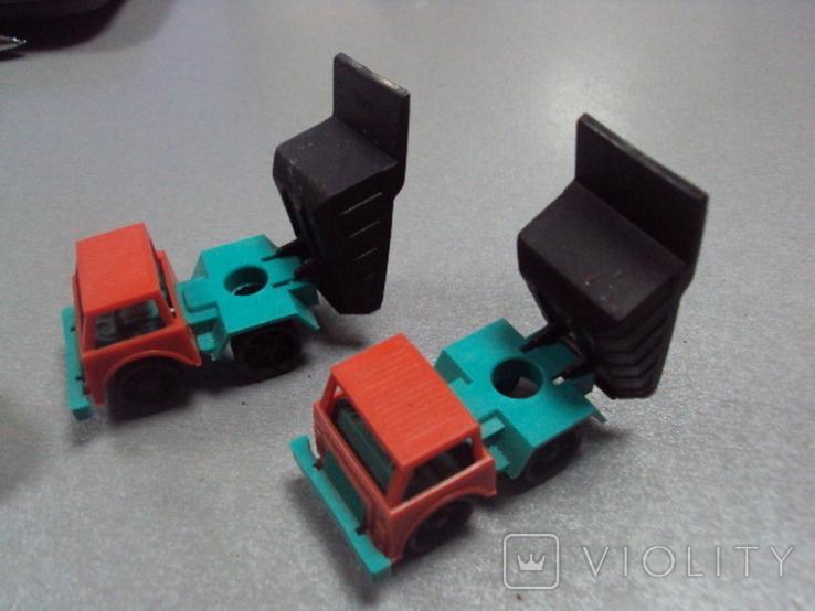Машинка самосвал трактор ссср лот 3 шт, фото №7