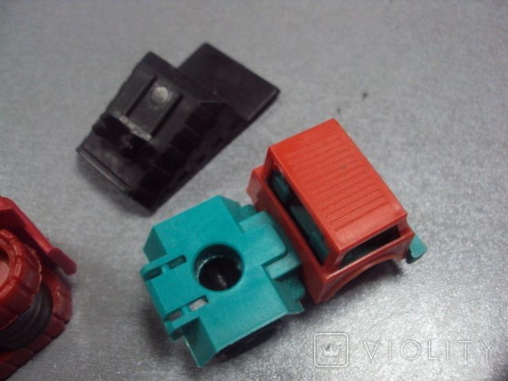 Машинка самосвал трактор ссср лот 3 шт, фото №12