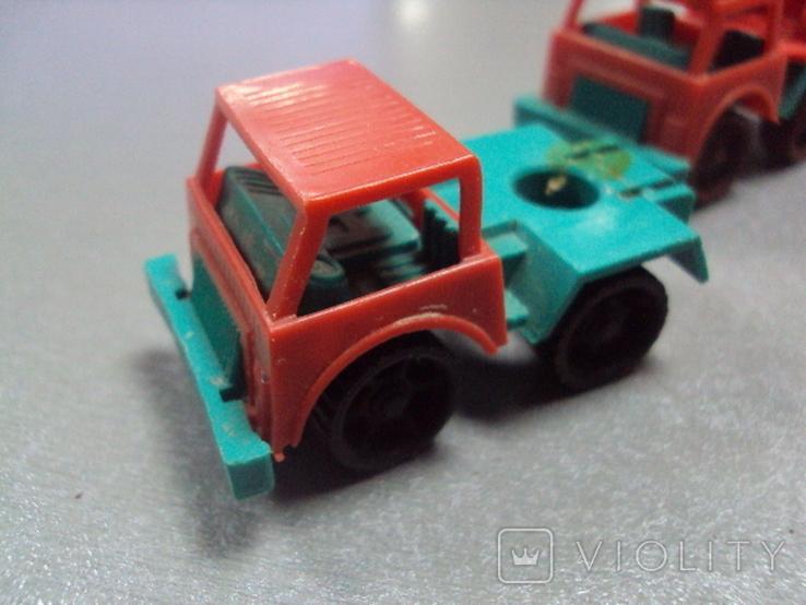 Машинка пожарная машина ссср лот 3 шт, фото №4