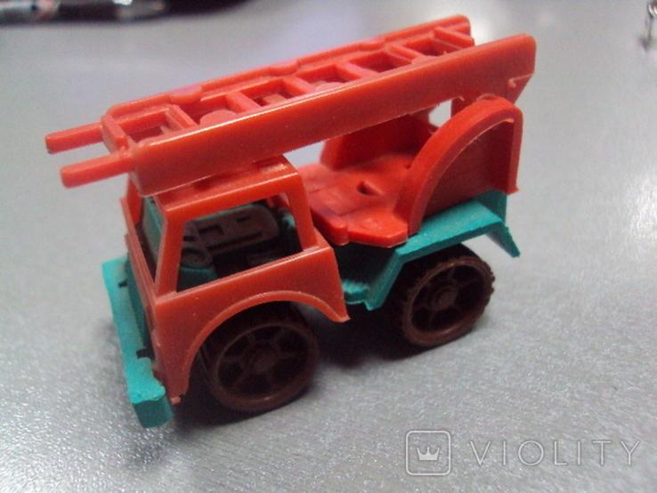 Машинка пожарная машина ссср лот 3 шт, фото №5
