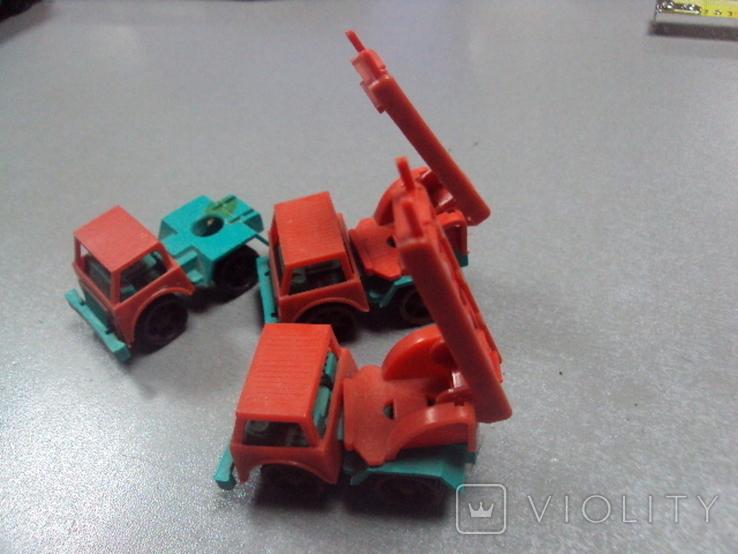 Машинка пожарная машина ссср лот 3 шт, фото №8