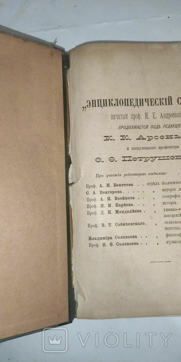 Энциклопедический словарь Брокгауз и Ефрон 21 том, фото №11