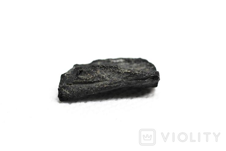 Імпактне тіло, тектит Irgizite, 1,6 грам із сертифікатом автентичності, фото №11