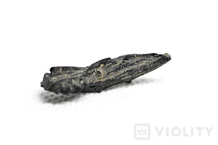 Імпактне тіло, тектит Irgizite, 1,0 грам із сертифікатом автентичності, фото №6