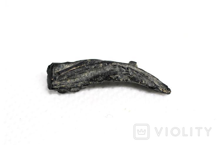 Імпактне тіло, тектит Irgizite, 1,0 грам із сертифікатом автентичності, фото №9