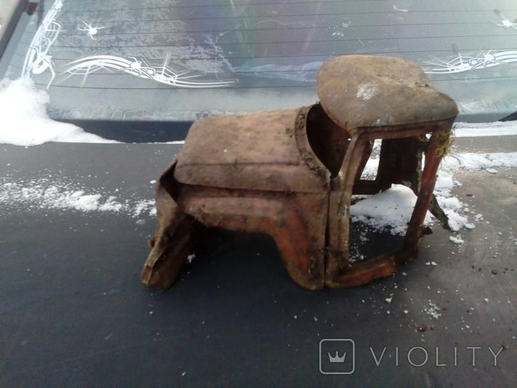 Старая грузовая машина времён СССР, фото №4