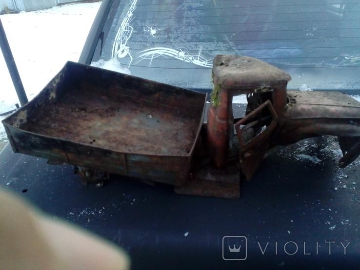 Старая грузовая машина времён СССР, фото №5