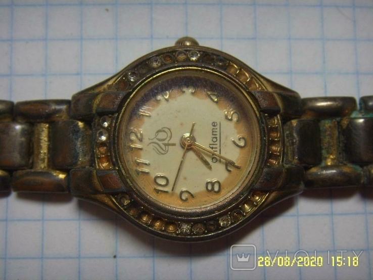 Часы-имитация Oriflame женские. Не рабочие на запчасти., фото №2