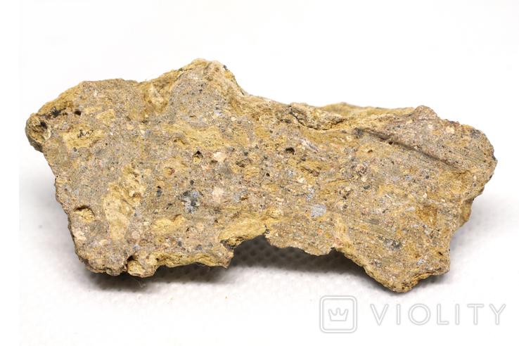 Імпактна брекчія Іллінецького кратеру, 20,6 г, з сертифікатом автентичності, фото №5