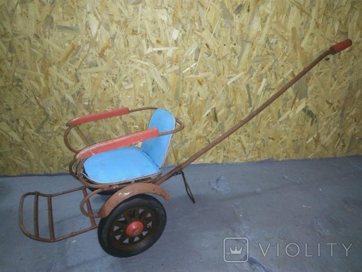 Детская каталка коляска СССР, фото №2