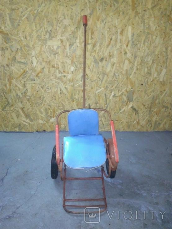 Детская каталка коляска СССР, фото №3