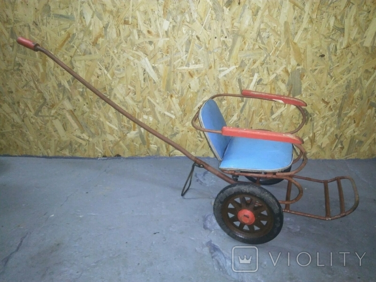 Детская каталка коляска СССР, фото №4