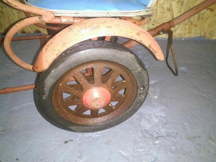 Детская каталка коляска СССР, фото №7