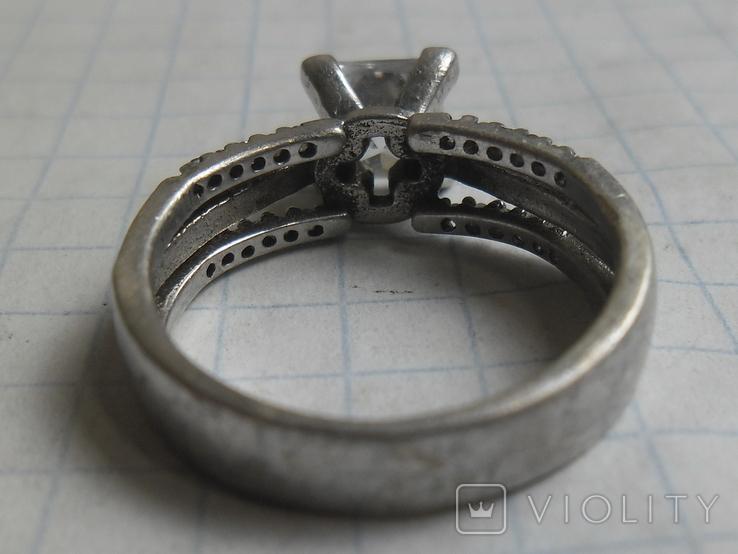 Кольцо 925, фото №11