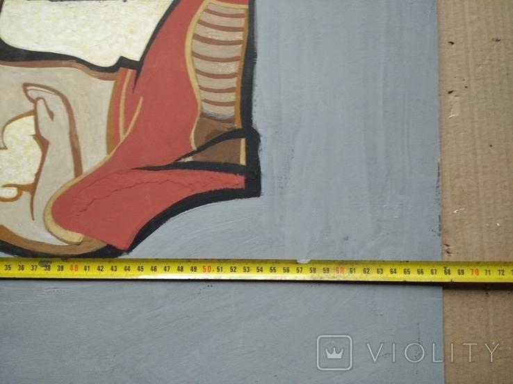 """За счастливое детство"" к.м.68х53. Г. Малышев., фото №7"
