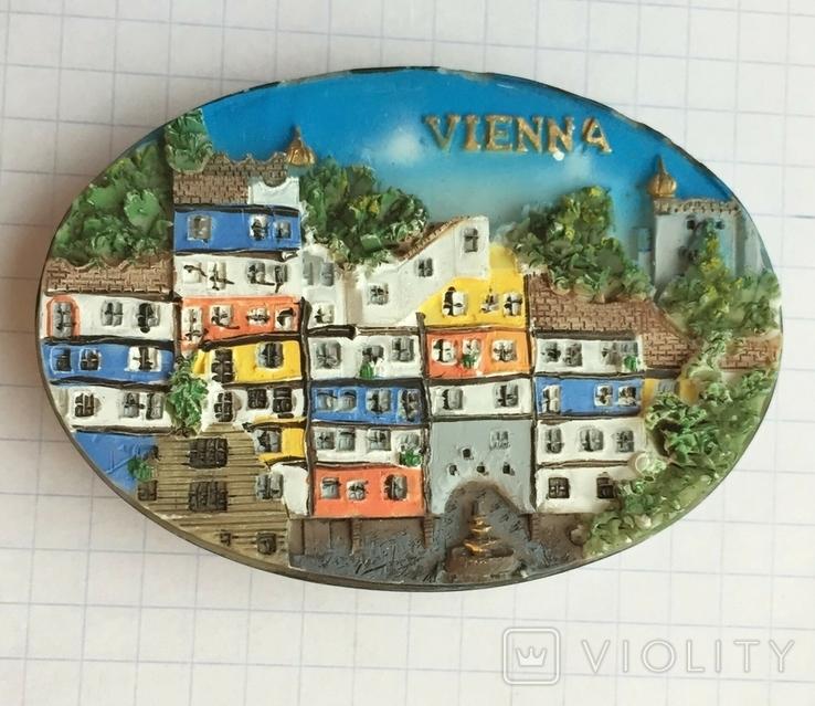 Магнит на холодильник Вена, Австрия, фото №2