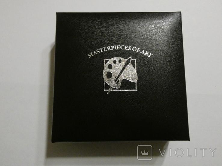 Шедевры живописи - ВАН ГОГ- серебро 3 унции, кристаллы Сваровски -, фото №5