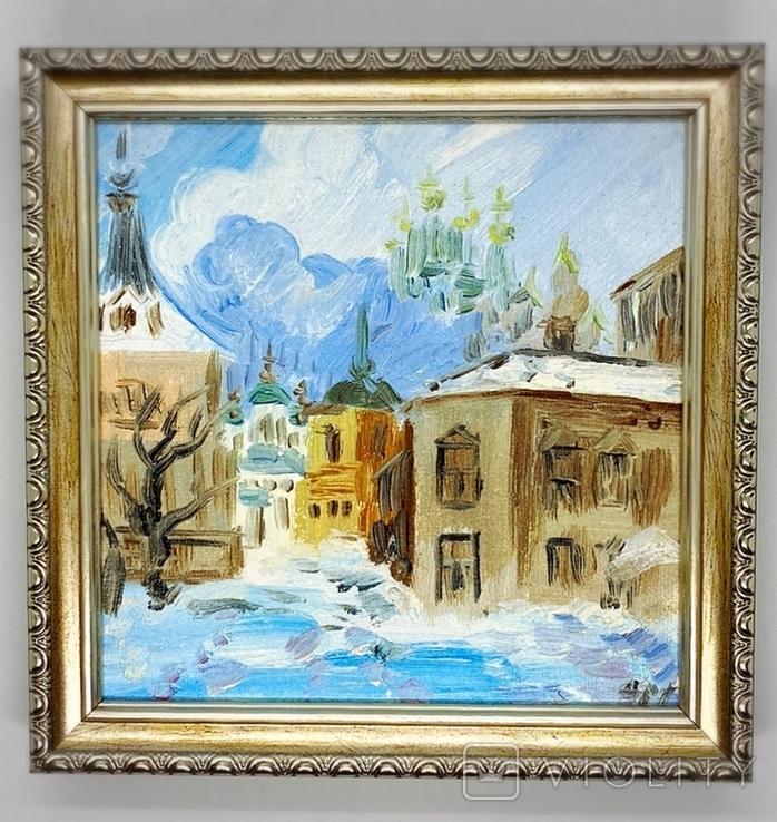 "Картина ""Зимний город"", фото №2"