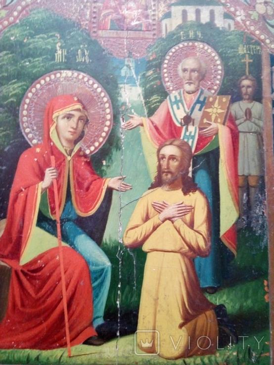 Икона Богородицы Беседная, фото №2