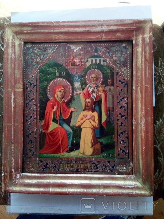 Икона Богородицы Беседная, фото №4