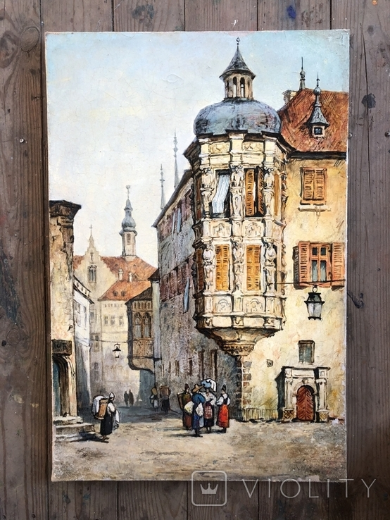 Старинная Прага. копия, фото №2