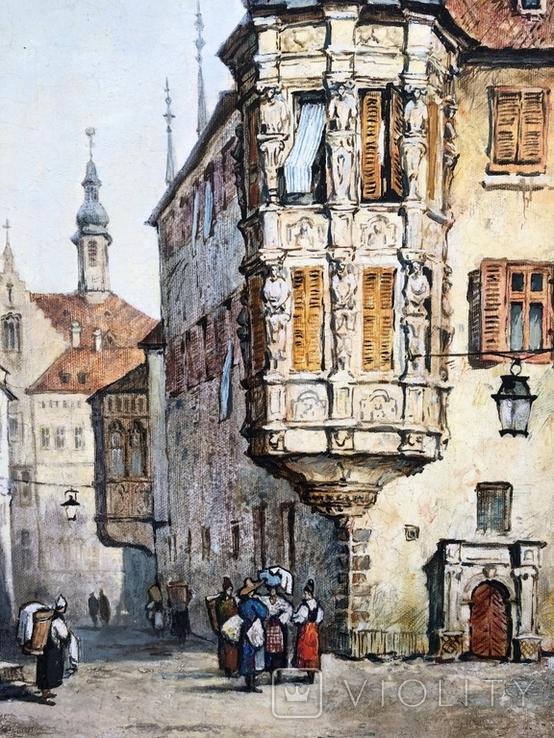 Старинная Прага. копия, фото №4
