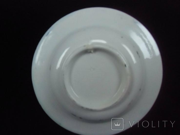 Старинная настенная тарелка №2 Миниатюрная 14см., фото №10