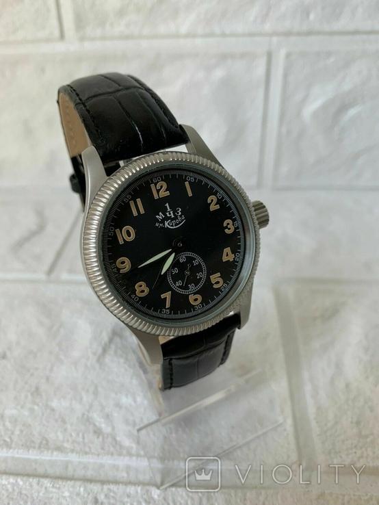 Мужские наручные часы марьяж 1МЧЗ механизм ЗИМ 2602, фото №6