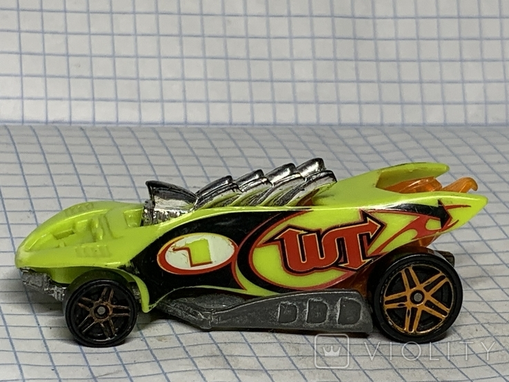 Hot Wheels Turbo Flame 1995, фото №2