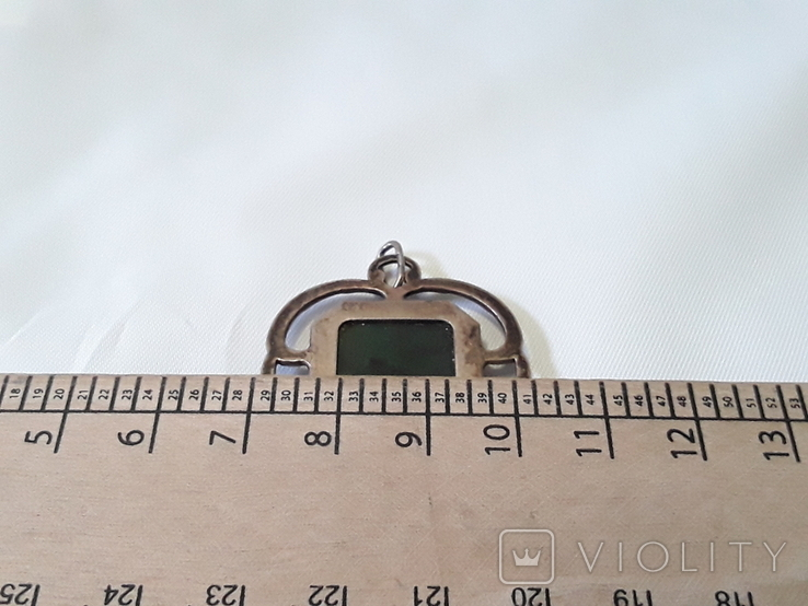 Серебряный кулон 875*, фото №8