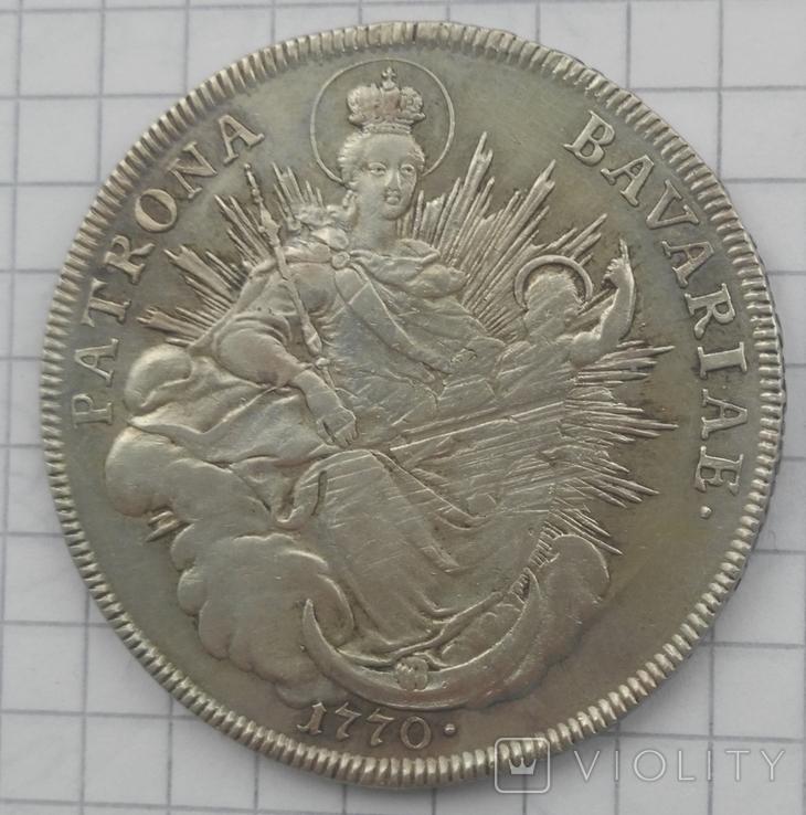 1 талер Патрона герцогства Бавария 1770 -го года, фото №11