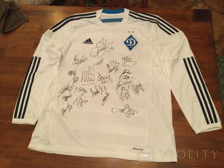 Футболка с автографами футболистов 2000+ года, фото №6