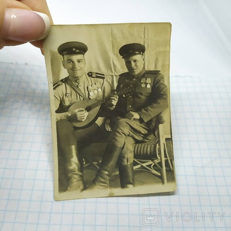 2 фото 9 мая 1945 Красноармейцы. ВОВ, фото №4