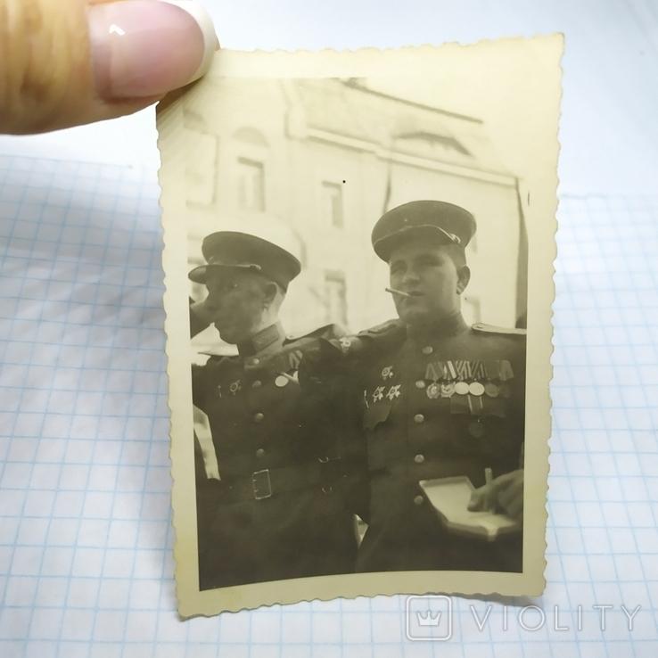 2 фото 9 мая 1945 Красноармейцы. ВОВ, фото №6