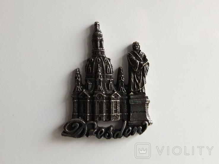Сувенірний магніт / Dresden, фото №2