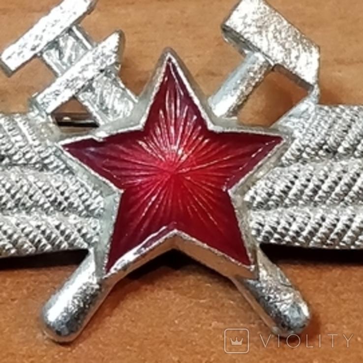 Знак офицерской классности авиатехника ВВС СССР, фото №4