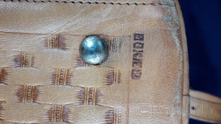 Вінтажна сумка з тисненням, фото №9